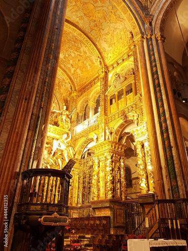 Billede på lærred Catedral Santiago de Compostela