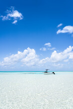 Ocean View With Turquoise Water And Blue Sky