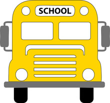 School Buss Svg Vector For Silhouette And Cricut This File Is Layered File