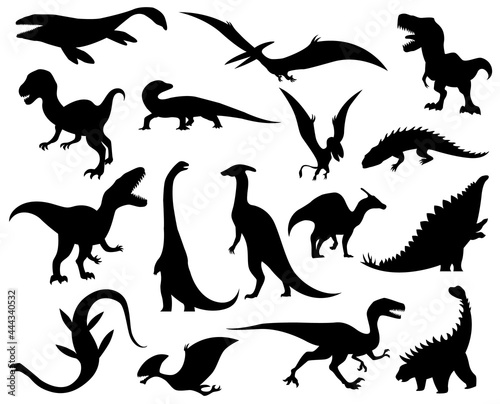 Photo Collection silhouettes of dinosaurs
