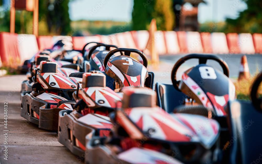 Go kart racing and motorsport