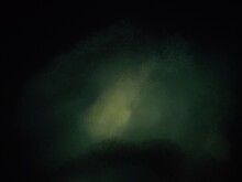 Dark Background With Green Abstract