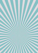 Sunlight Wide Vertical Background. Blue And Greycolor Burst Background.