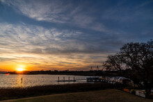 Sunset On The Charleston SC Harbor