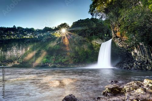 Fotografie, Obraz Cascade du bassin la Paix - Ile de La Réunion