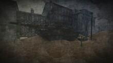 Tank In Desert Town