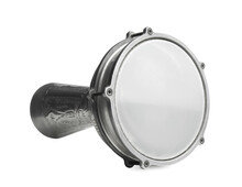 Goblet Hand Drum Isolated On White. Percussion Musical Instrument