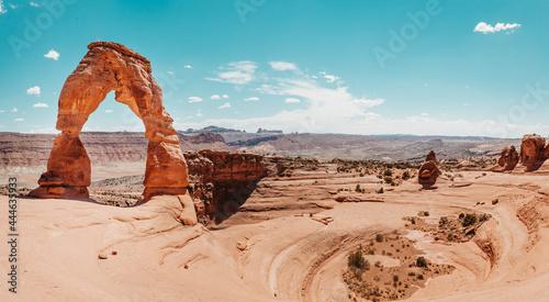 Billede på lærred Delicate Arch - Arches National Park