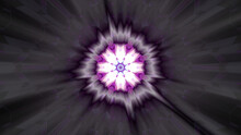 Flashing Bright Pink Black Kaleidoscopic Background For Wallpapers