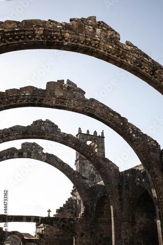 Fotografering ancient roman aqueduct