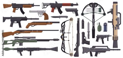 Fotografie, Tablou Weapons guns
