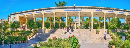 Fotografering Panorama of colonnade at Tomb of Hafez, Shiraz, Iran