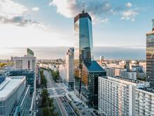 Warszawa Centrum - Widok Na Al. Jana Pawła II