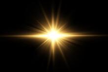 Vector Transparent Sunlight Special Lens Flare Light Effect. PNG. Vector Illustration .