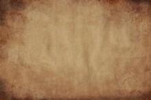 Old Paper Texture,  Grunge Vintage Paper Background.. Old Vintage Grunge Parchment Brown Paper Texture.