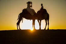 Couple On Camels