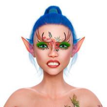 Elf Girl Is Angry