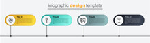 Set Line Sun Protective Umbrella, Amusement Park Billboard, Lollipop And Hunt On Rabbit With Crosshairs. Business Infographic Template. Vector