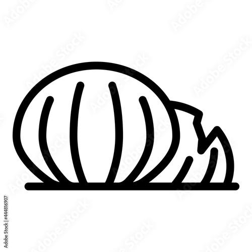 Sea shell icon outline vector Fototapet