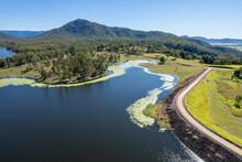 Aerial Over Teemburra Dam Australia