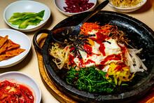 Korean Hot Beef Bibimbap