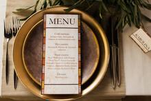 Menu For Restaurant