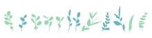 手書きの草木イラスト Handwritten Vegetation Illustration