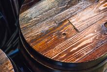 Top Wood Oak Wine Barrel