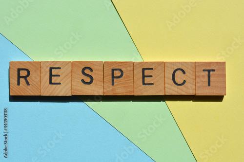 Murais de parede Respect, word