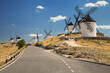 Windmills of Consuegra, Castilla la Mancha, Spain