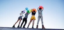 Raising Pride Balloons