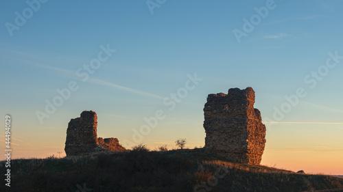 Fotografia Ruinas castillo Saldaña PALENCIA.