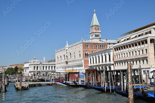 Fotografiet Venedig - Dogenpalast Campanile
