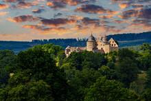 The Castle Of The Sleeping Beauty Dornröschen Sababurg At Hofgeismar In Hesse