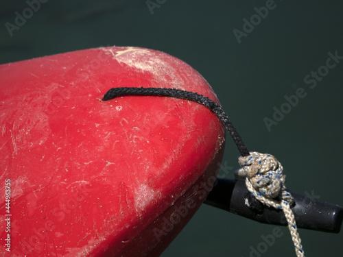 Photo Red kayak prow detail