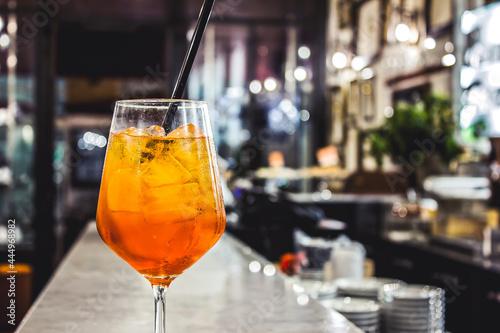Canvas Spritz cocktail, Italian aperitif