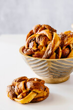 Babka Buns With Chocolate Spread Ingredient