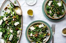 Asparagus And Pea Salad Vignette