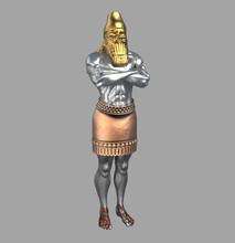 King Nebuchadnezzar's Dream Statue (Daniel's Prophecies) Presentation Background
