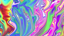 Abstract Multicolored Liquid Texture Background