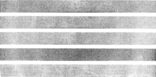 Monochrome Texture Composed Of Irregular Graphic Elements. Distressed Uneven Grunge Background. Abstract Vector Illustration. Overlay For Interesting Effect And Depth. Isolated On White Background