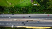 Aerial View Of Beautiful British City