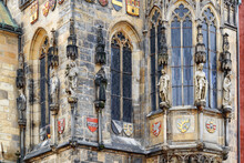 Detail Of The Chapel Of The Old Town Hall In Prague