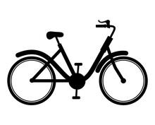 Black Bike Representation