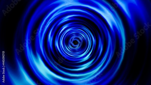 Photo Abstract Blue Swirl Background