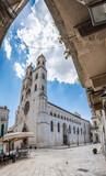 Altamura in the summer sun. Warm Puglia.