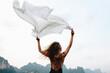 Leinwandbild Motiv Wild and free like the wind