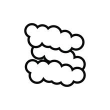 Cloud Icon. For Web And Cloud Computing Applications. Simplus Series