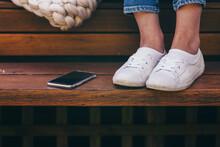 Feet And Phone