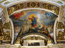 Peter And Paul Cathedral St Petersburg Inside